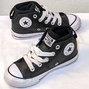 Kids Converse Leather Sneakers
